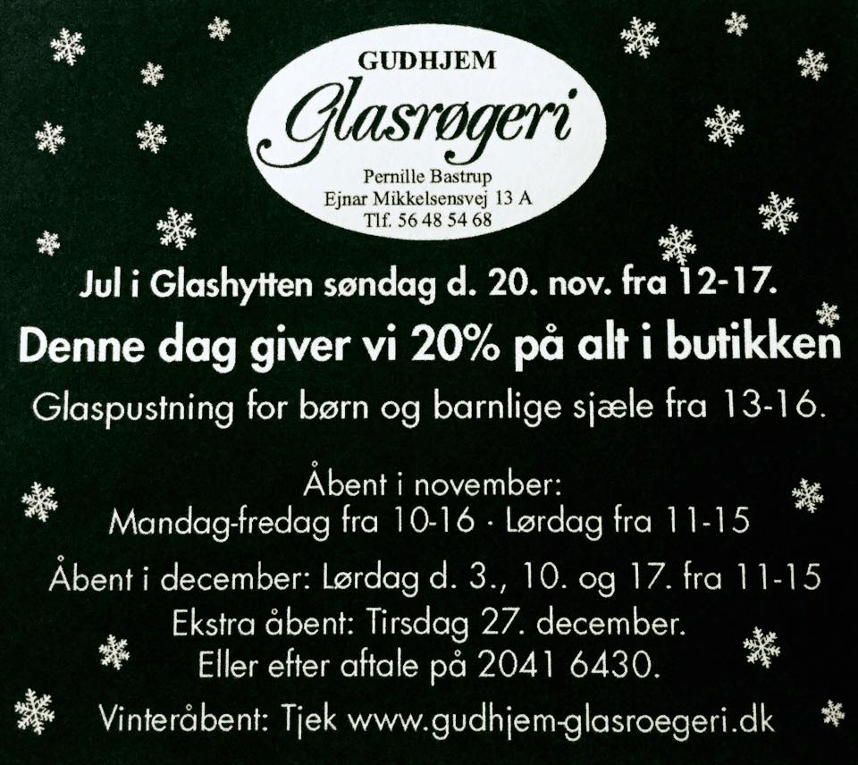 Jul i Gudhjem Glasrøgeri